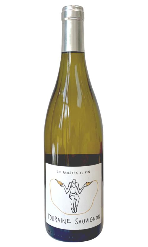 Les Athlets du vin, Sauvignon blanc 2020, Touraine white