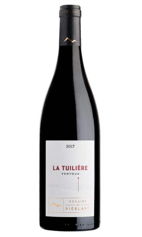 2017 Cote de Ventoux, La Tuilière