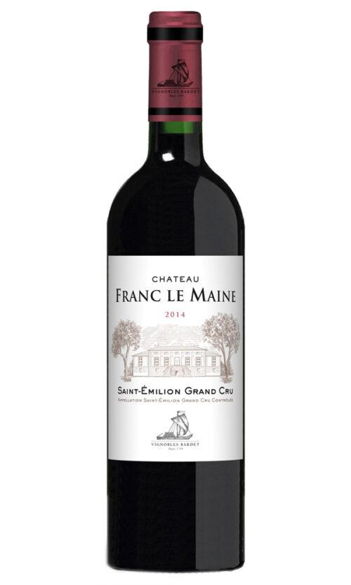 Vignobles Bardet, Franc Le Maine, Saint-Emilion Grand Cru