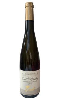 Domaine J Gsell, Gewurztraminer Grand cru Pfingstberg2015, Alsace Grand Cru white